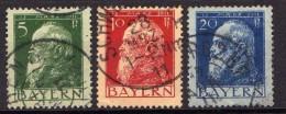 Bayern Mi 77-79 I, Gestempelt [130516VII] - Bavaria