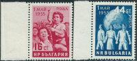Bulgaria 1955 Nuovo** - Mi.948/9  Yv.824/5 - 1945-59 Repubblica Popolare