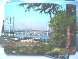 Turkije Turkey Istanbul The Bosphorus Bridge - Turkije