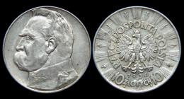 10 Zlotych 1936. Pologne/Polska. Argent/Silver - Austria