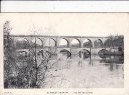 Cp , 87 , SAINT-PRIEST-TAURION , Vue Des Deux Ponts - Saint Priest Taurion