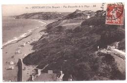 CPSM Guethary 64 Pyrénées Atlantiques Vue Ensemble De La Plage édit BR N°13 écrite Timbrée 1938 - Guethary