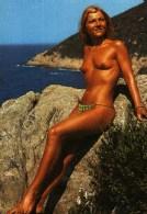 Carte Postale -    Pin-up - Femme Seins Nus - Les Joies Du Naturisme - Pin-Ups