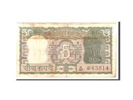 India, 5 Rupees, Undated, Undated, KM:55, TB - India