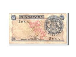 Singapour, 1 Dollar, 1967, Undated, KM:1a, TB - Singapore