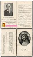 Lemahieu Albert Andre Crepeele Gontier Mahieu Dikkebus Mauthausen Politieke Gevangene Bidprentje Doodsprentje - Religion & Esotericism