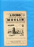 ALLAUCH -13190- L'écho Du Moulin -1941-N°15 Périodique Communal-8 Pages - Vieux Papiers