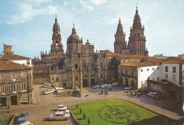 PV1007 - POSTAL - SANTIAGO DE COMPOSTELA - PORTICO  DE LA GLORIA - DETALLE - La Coruña
