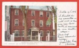 CPA États Unis - Post Card - Portland - Longfellow's Home - Portland
