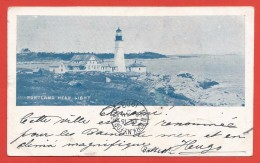 CPA États Unis - Post Card - Portland - Head Light - Portland