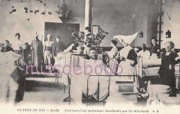 Intérieur D'une Ambulance Bombardée Par Les Allemands à Senlis - Guerre 1914 - 2 Scans - Guerre 1914-18