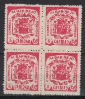 Guerra Civil War, Algariñeo - Granada, Caridad, Coat Of Arms **, MNH - Emissioni Nazionaliste
