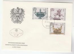 1964 AUSTRIA FDC Stamps ART Gustav Klimt Cover - FDC