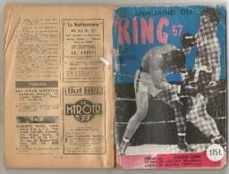 BOXE - BOXEUR - BOXING - PUGILATO -ANNUAIRE RING 57 - Collections