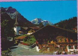Suisse °° GSTEIG-Gstaad - Oldenhorn.Diablerets . Pillon-pass - Dentelée ° NEUVE - Svizzera
