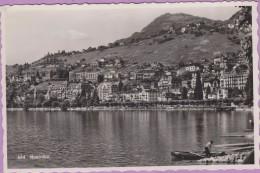 Suisse °° Montreux - Vue Partielle Sur Le Lac - 9x14 - Dentelée ° NEUVE ° Sartori 884 - Suiza
