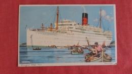 Cunard White Star  Carinthia Ref  2207 - Paquebots
