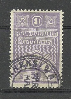 ESTLAND Estonia 1925 Revenue Tax Stamp Stempelmarke Kanzleisteuer O - Estonia