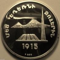 "@Y@   Nagorno-Karabakh Armenia 1000 Dram 2004 Silver Coin.""Monument"""