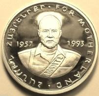 "@Y@   Nagorno-Karabakh Armenia 1000 Dram 2004 Silver Coin. ""For Motherland"""