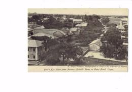 CPA - NIGERIA - LAGOS - Roman Catholic Street To Force Road - - Nigeria