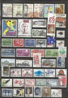 9372-LOTE SELLOS DINAMARCA SIN TASAR  DIFERENTES SIN TASAR,CON 1 O 2 AMORTIZA.CON 1 O 2 SELLOS YA TIENE AMORTIZADO - Lotes & Colecciones