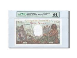 Nouvelle-Calédonie, 1000 Francs, 1938, SPECIMEN, PMG Ch UNC 64, KM:43s - Nouvelle-Calédonie 1873-1985