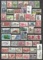 2536a-LOTE SELLOS DINAMARCA SIN TASAR  DIFERENTES SIN TASAR,CON 1 O 2 AMORTIZA.CON 1 O 2 SELLOS YA TIENE AMORTIZADO - Lotes & Colecciones