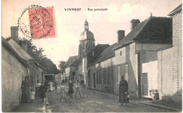 VINNEUF ... RUE PRINCIPALE - France