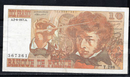 FRANCIA 1977. 10 FRANCOS. HECTOR BERLIOZ   MBC.  B400 - 1962-1997 ''Francs''