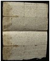 Vendémiaire An 7, Bordeaux Citation à Comparaître De Maurice Rafter Maçon, à La Demande  De Arnaud Rafter - Manuscrits