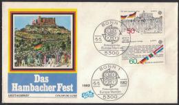HJ27     Germany - FDC 1977 EUROPA CEPT  - Mi. 1130/1131 - Europa-CEPT