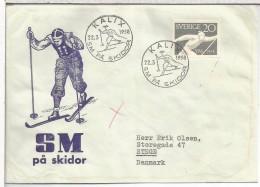 SUECIA 1958 KALIX ESQUI SKI DEPORTE - Ski
