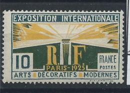 France N° 210* (MH) - France