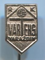 Handball - RK VARTEKS, Varazdin Croatia, Vintage Pin Badge - Pallamano