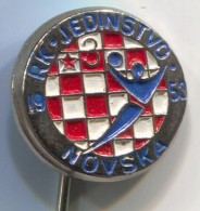 Handball - RK NOVSKA Croatia, Vintage Pin Badge - Pallamano