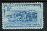 205579465 USA POSTFRIS MINT NEVER HINGED POSTFRISCH EINWANDFREI SCOTT  1006 B & O Railroad - Nuovi