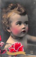 CPA Fantaisie - Bébé - Portrait - Bonne Fête - Art Déco - Bébés