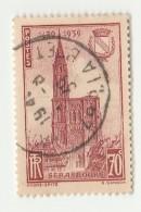 1939 - 5ème Centenaire De L ´ Achèvement De La Flèche De La Cathédrale De Strasbourg - Yvert & Tellier N° 443 - France