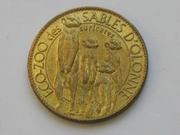 Médaille ARTHUS BERTRAND -Trésors De France - ECO-ZOO Des SABLES D'OLONNE  **** EN ACHAT IMMEDIAT **** - Arthus Bertrand