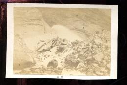 BTDIV1 Suisse Photo Format CDV (9,5x6,5cm) Le Torrent Noir - Anciennes (Av. 1900)