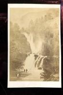 BTDIV1 Suisse Photo Format CDV (9,5x6,5cm) Zermatt Et Le Mettelhon - Anciennes (Av. 1900)