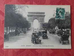 Dep 75 , Cpa PARIS ,  4378 , Avenue Des Champs Elysées  (3.329) - Champs-Elysées