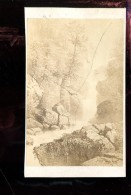 BTDIV1 Suisse Photo Format CDV (9,5x6,5cm) Cascade Du Reichenbach. - Anciennes (Av. 1900)