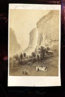 BTDIV1 Suisse Photo Format CDV (9,5x6,5cm) Le Mausbach?? - Anciennes (Av. 1900)
