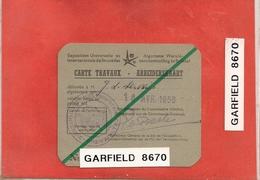 Expo 58 - Tickets D'entrée