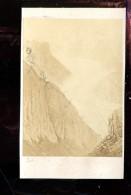 BTDIV1 Suisse Photo Format CDV (9,5x6,5cm) Le Glacier De Viesch - Anciennes (Av. 1900)