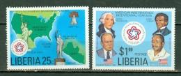 Liberia 1976 Mi 1013/1014**, Sc 769/770** - MNH - Liberia