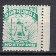 Guerra Civil War, Granada, Montefrio Beneficencia, Coat Of Arms **, MNH - Vignetten Van De Burgeroorlog