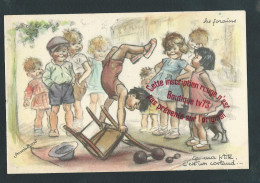 M772 - Germaine BOURET - Les Forains - Edition EAeC - ( Illustrateur - Chromo - Litho ) - Bouret, Germaine